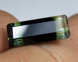 Wow Very Beautiful & Unique Tri Color Tourmaline For A Pendant Or For a