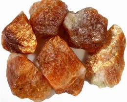122.05 CTS SUNSTONE ROUGH FIREY INDIA [F6760]