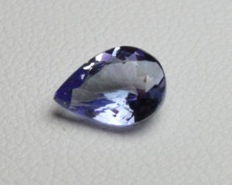 Natural Tanzanite - 1,12 carats - Gemstone
