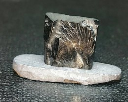 Shungite cabochon 17mm also known as NOBLE SHUNGITE