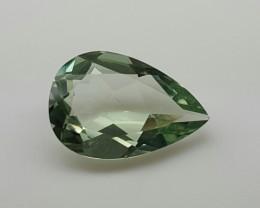 Natural Prasoilite Faceted Cut Gemstone