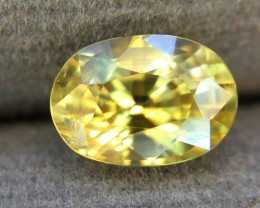 1.85 Crt Natural Zircon Faceted Gemstone