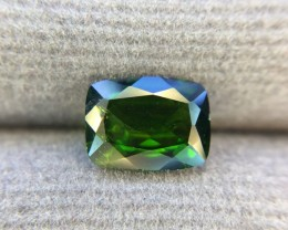 1.40 Crt Natural Chrome Diopside Faceted Gemstone