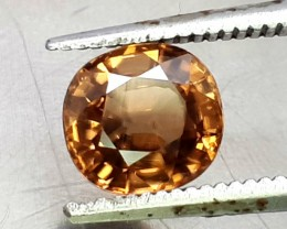 2.10CT ZIRCON TOP QUALITY OVAL FACETED FLAWESS
