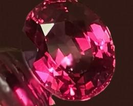 A Superb Raspberry Pink Umbalite Garnet 2.14cts VVS Stunning gem