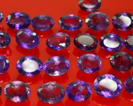 392 CT NATURAL BEAUTIFUL AMETHYST LOT ( 41 PIECES)
