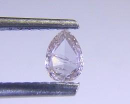 0.17ct Faint Pink Diamonds , 100% Natural  Gemstone
