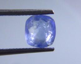 Certified 2.01ct Blue Ceylon Sapphire , 100% Natural  Gemstone