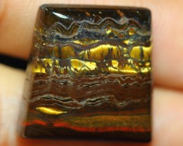 38.16ct Natural Iron Tiger Eye
