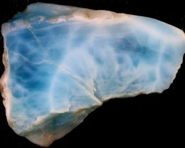 61.60 CTS  LARIMAR ROUGH   SLAB  [F6781]