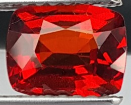 1.53cts, Orange Spessartite Garnet,  VVS1 Eye Clean, Vivid