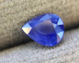 0.60 Crt Natural Sapphire Faceted Gemstone