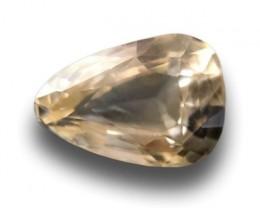 2.06 CTS   Natural Yellow  Sapphire  Loose Gemstone New  Sri Lanka