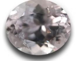 1.17 CTS | Natural white sapphire |Loose Gemstone|New| Sri Lanka