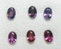 Pink and Purple Sapphire - 3,70 carats - Wholesale Lot