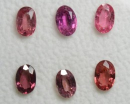 Pink Sapphire - 3,30 carats - Wholesale Lot