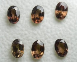 Brown Sapphire - 4,60 carats - Wholesale Lot