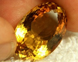 28.44 Carat Brazil VVS Golden Citrine - Gorgeous