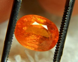 2.89 Carat Fiery Orange SI Spessartite Garnet - Gorgeous