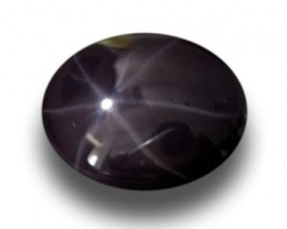5.45 Carats|Natural Unheated Rare Purple Star Spinel|New| Sri Lanka