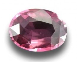 1.15 CTS Natural Pink sapphire |Loose Gemstone|New Certified| Sri Lanka