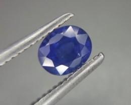 Magnificent Top Color Sparkling Intense Blue Sapphire