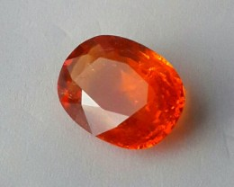 6.50 CTS BRILLIANT! 100%NATURAL HOT ORANGE MANDARIN SPESSARTITE GARNET AAA