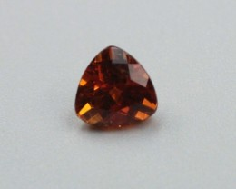 SPESSARTITE GARNET TRILLION SHAPED