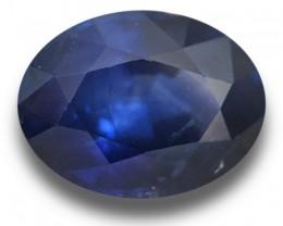 1.36 CTS Natural Royal Blue sapphire sapphire |New Certified| Sri Lanka