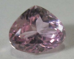 *JENZGEMS* GENUINE PINK KUNZITE  VVS 10.5x8.7x6.5mm 3.93 CT