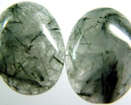 TOURMALINE QUARTZ PAIR DEAL -INDIA 27.5 CTS [S3503 ]