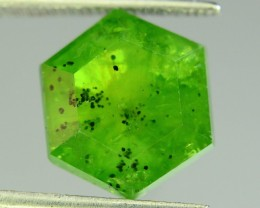6.45 ct Natural Horsetail Demantoid Garnet