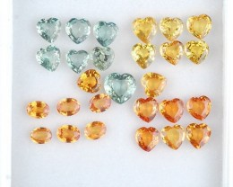 Natural Sapphire - 7.30 ct - Wholesale lot