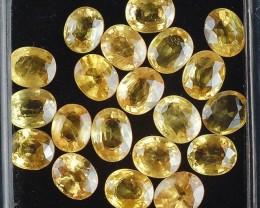 Natural Sapphire - 18.70 ct - Wholesale lot