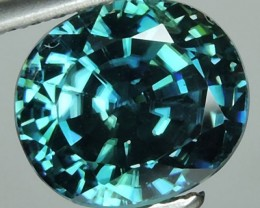 4.70 CTS DAZZLING NATURAL RARE TOP LUSTER INTENSE BLUE ZIRCON