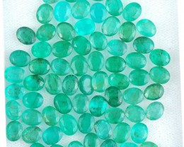 Natural Emerald - 23,60 ct - Wholesale Lot
