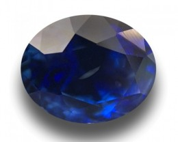 1.68 CTS Natural Blue Sapphire |Loose Gemstone|New Certified| Sri Lank