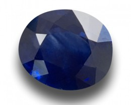 1.53 CTS | Natural Royal Blue sapphire |Loose Gemstone|New| Sri Lanka