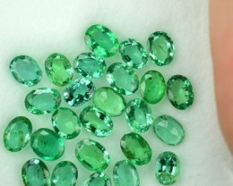 5.29 Cts Natural Emerald Oval Parcel From Colombia