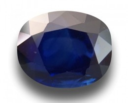 3.38 CTS | Natural Blue sapphire |Loose Gemstone|New| Sri Lanka