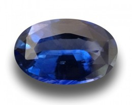 2.27 Carats   Natural Blue Sapphire   Loose Gemstone  Ceylon - New