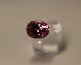 STUNNING LOUPE CLEAN UNTREATED HOT PINK SPINEL 1.80 CARATS