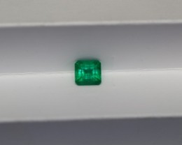 1.14 CARAT Bright Green AFGHAN (Panjshir) Emerald!