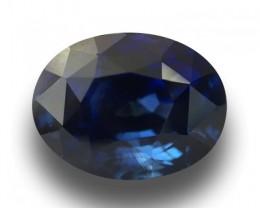 4.09 CTS|Natural  Blue Sapphire|Loose Gemstone|Ceylon-NEW