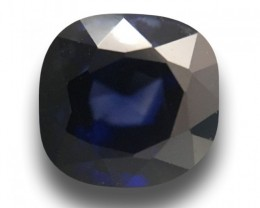 1.62 CTS Natural Medium Dark Blue sapphire |Loose Gemstone|Certified| Sri L