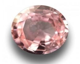 1.09 CTS Natural Pink Orange padparadscha |Loose Gemstone|Certified| Sri La