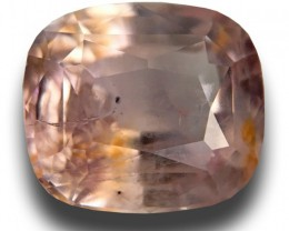 2.79 CTS Natural Pink / orange sapphire Loose Gemstone|New Certified| Sri L
