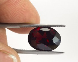 8.15ct Garnet Oval Cut
