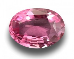 1.01 CTS   Natural Pink Sapphire  Certified   Loose Gemstone   Sri Lanka -