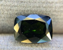 1.70 Crt Natural Chrome Diopside Faceted Gemstone